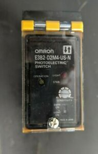 Omron Photoelectric Switch E3b2 d2m4 us n 12 240vdc 24 240vac
