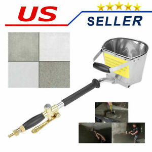 Cement Sprayer Gun Wall Stucco Mortar Tool Concrete 4jet Sprayer Paint Us