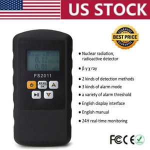 Nuclear Radiation Geiger Tube Dosimeter Monitor Beta Gamma Xray Tester Meter Us