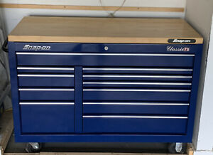 Snap On Tool Box With Tools master Series Classic 78 Blue