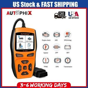 Autophix 7710 Obd2 Code Reader Scanner Abs Epb Sas Bms Oil Reset Tool For Ford