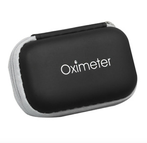 Finger Pulse Oximeter Storage Case Heart Rate Monitor Zipper Cover Bag Pouch