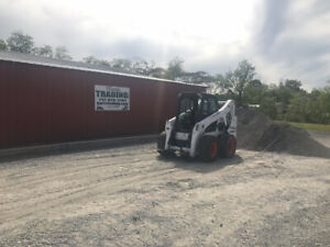 2015 Bobcat S650 Skid Steer Loader W Cab No Door Fuel Issue Read Description