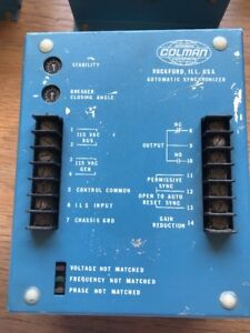 Barber Coleman Automatic Synchronizer