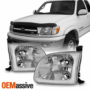 Fit 00 04 Toyota Tundra Standard Limited Access Cab Pair Headlights Headlamp