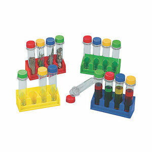 Super Science Test Tubes With Trays Educational 20 Pieces