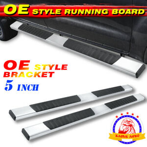 For 09 20 Dodge Ram 1500 2500 3500 Crew Cab 5 Nerf Bar Running Board Side Step