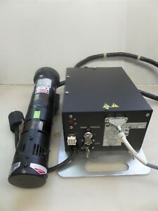 Uniphase 2214 40mla Argon Ion Laser With 2114b 40mla Power Supply