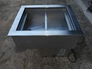 Apw Wyott Commercial Refrigerated 2 Pan Drop In Cold Food Well Chiller