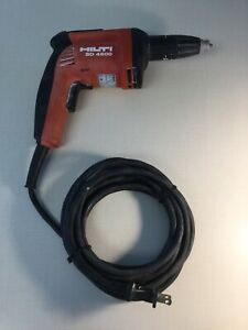 Hilti Sd4500 1 4 Wood Drywall Screwdriver Used 8 10 Great Condition