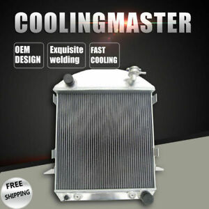 Aluminum Radiator 3 Cores For Ford Model t Bucket Chevy Engine L4 2 9l 24 27 At