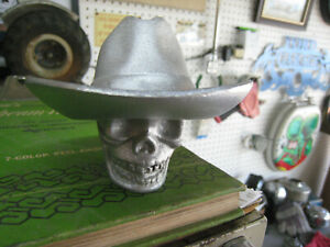 1932 Ford Flathead Hot Rod Rat Rod Trans Aluminum Skull Shift Knob Hat