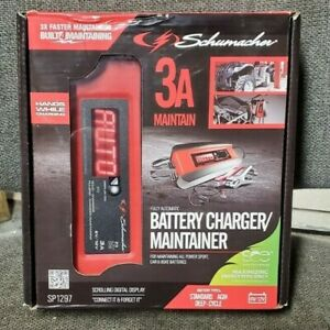 Brand New Schumacher Fully Automatic Battery Charger Maintainer Sp1297