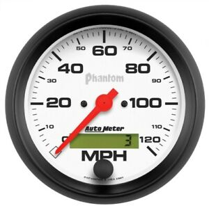 Auto Meter 5887 3 3 8 Phantom Electric Speedometer 0 120 Mph New