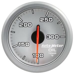 Auto Meter 9198 Ul 2 1 16 Airdrive Tachometer 0 5 000rpm Air Core Silver New