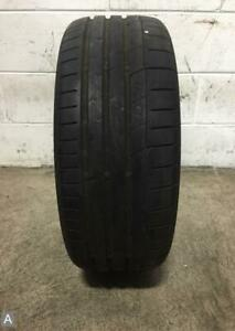 1x P235 45r17 Continental Extremecontact Sport 8 32 Used Tire