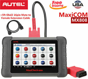 Autel Maxicom Mk808 Mx808 Obd2 Diagnostic Scanner Tool Tpms Is Better Than Ds808