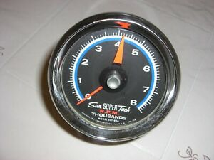 Vintage Sun Super Tach 8000 Rpm Model Sst 806