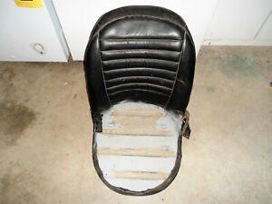 Triumph Tr3a Tr3b Driver S Side Seat Frame With Vinyl Backing Original Uk