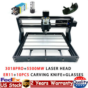 Cnc 3018 3axis Laser Engraving Machine Router Mini Pcb Wood Milling Grbl Control