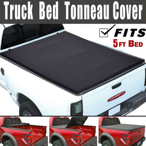 Fit Toyota Tacoma 04 19 5ft New Short Bed Soft Tri Fold Tonneau Cover Clamp On