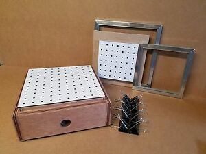 Vacuum Former forming 2 In 1 12 X 12 And 9 X 9 Forming machine Box