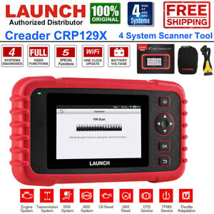 Launch X431 Crp129x Obd2 Auto Scanner Tool Car Code Reader Abs Srs Tpms Epb Sas