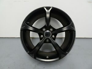 2012 Corvette C6 Grand Sport Centennial Edition Front Wheel 18x9 5 Black 9597860