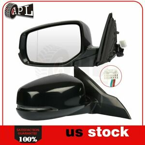 Power Heated Side Mirrors For 2013 2017 Honda Accord