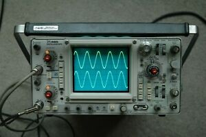 Tektronix 465 100mhz Oscilloscope Calibrated Sn B309551 With 2 Probes