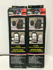 Pair Prime Products 30 0086 Xlr 2 5 Convex Head Rachet Clip On Tow Ford Jeep
