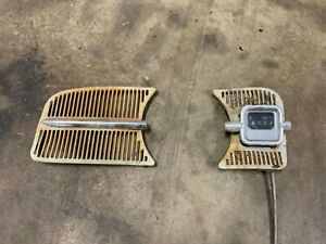 Vintage 60 s Vw Bug Beetle Dash Vw Volkswagen Speaker Grill Assy W fuel Gauge