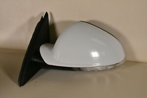 11 17 Buick Regal Left Driver Side Power Mirror Door Olympic White 6 Pin
