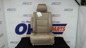 2003 07 Toyota Land Cruiser J100 Driver Left Front Seat Tan Leather
