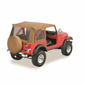 Bestop 55799 37 Supertop Soft Top Replacement Skin Spice For 76 86 Jeep Cj7 New