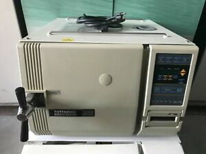 Nice Tuttnauer 2540ek Tabletop Digital Dental Autoclave Steam Sterilizer 230v