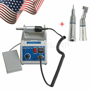 Dental Lab Marathon Electric Micro Motor Contra Angle Straight Handpiece Ag q