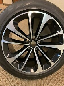 Bentley Bentayga Black silver Rims 21 Inch Set Of 4 New Take Off Rims Tires