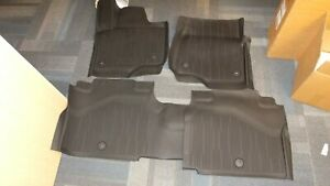 New 2017 Ford Expedition Oem All Weather Rubber Floor Mats 1st