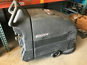 Clarke Encore L20 Floor Scrubber 20 With Charger Only 30 Hours Sold As is