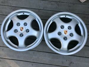 Genuine 17 Porsche Cup 1 Speedline 968 Option 911 Turbo 3 3 Wheels 17 X 7 5