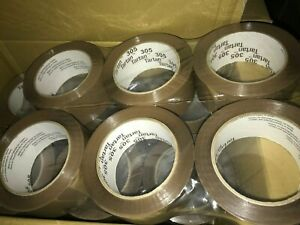 Scotch 3m 305 Box Tan Sealing Tape 2 X 110yds Tan 36 Rolls Packing Tape