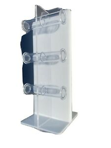 Acrylic Display 12 Bar Bracelet Watch Jewelry Rotating Spinner Rack