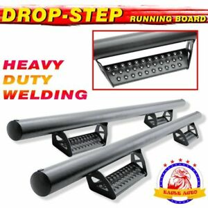 For Toyota 4 Runner 2010 2020 3 Black Hoop Running Board Side Step Nerf Bar Bct