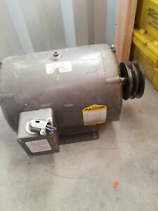 Baldor Electric Motor 10 Hp 1725 Rpm 230v 215t odp 3 Phase