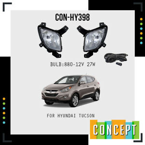 For 2010 2015 Hyundai Tucson Fog Lights Lamps And Assembly Set