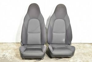 01 05 Mazda Miata Speed Mx5 Seats Seat Set Cloth Aa6600