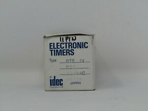 New Idec Rte p21 Timer Relay Rtep21 Free Shipping