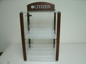 Citizen Watch Plastic Acrylic Display Case With Lock