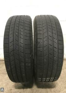 2x Take Off P235 60r17 Michelin Defender T H 10 32 Used Tires